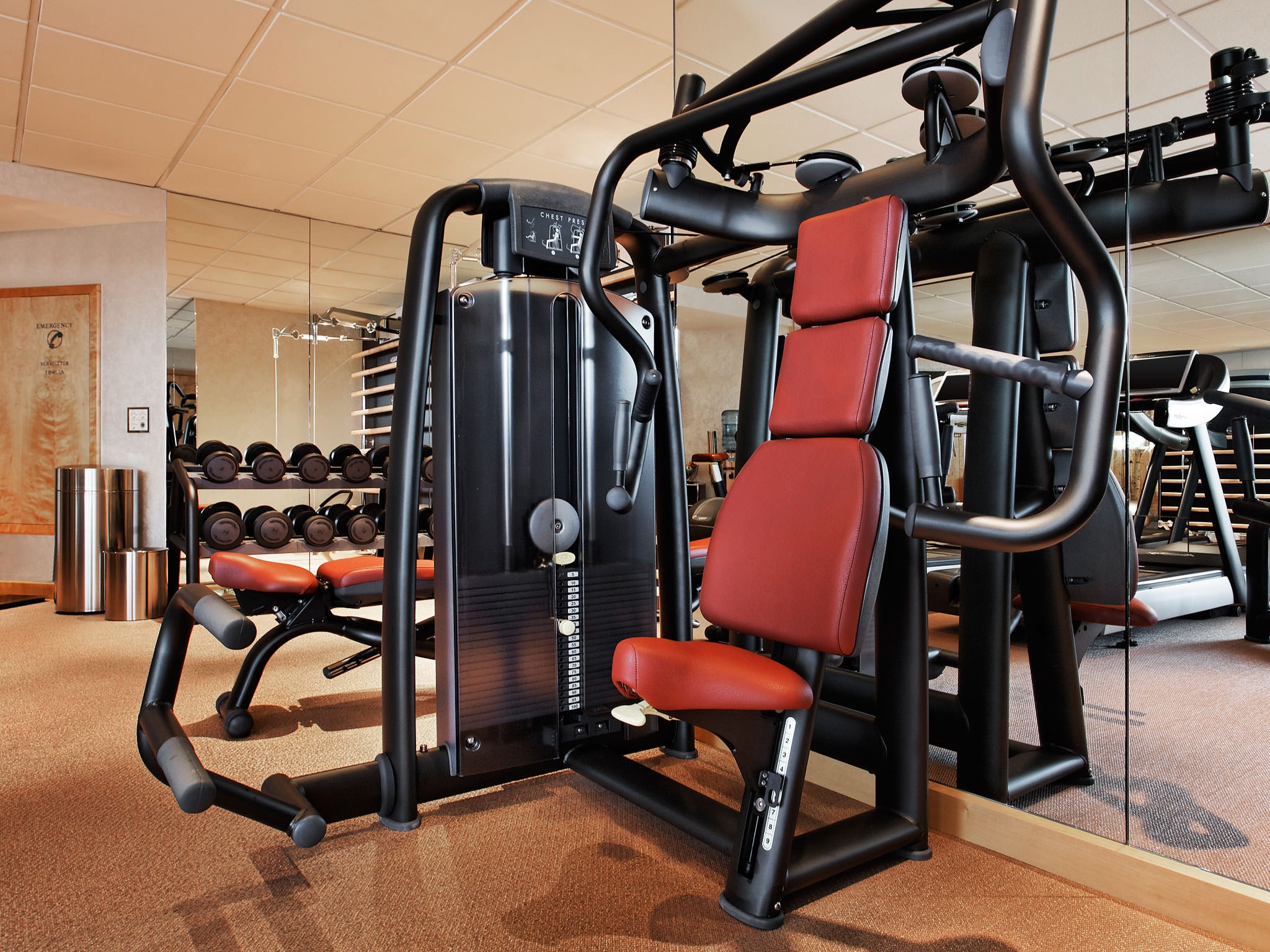Luxury Hotel President Wilson, Geneva - Fitness Center